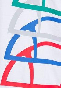 Ellesse - NURALLO TEE - Print T-shirt - white - 2