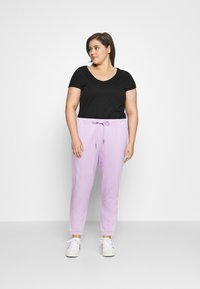 Noisy May Curve - NMMALOU PANTS - Verryttelyhousut - orchid bloom - 1