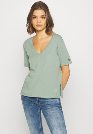 CORE OVVELA - T-shirts med print - light green
