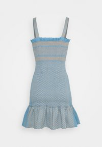 CECILIE copenhagen - JUDITH - Pletené šaty - blue - 8
