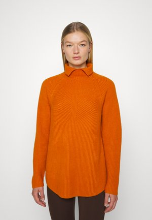 MOVING T NECK - Trui - amber