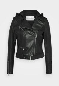 Calvin Klein Jeans - JACKET - Bunda zumělé kůže - black - 7