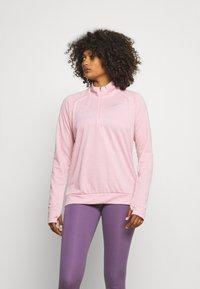 Nike Performance - PACER - Sports shirt - pink glaze/heather/reflective silver - 0