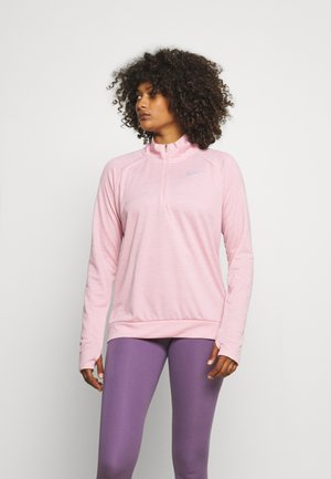 PACER - Sports shirt - pink glaze/heather/reflective silver