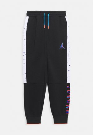 SPACE GLITCH PANT - Pantalon de survêtement - black/white