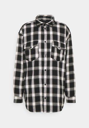 ROSEBOWL BANDANA AND CHECK SHIRT - Skjorter - black