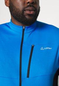 LÖFFLER - BIKE SHIRT ROCKY - T-Shirt print - brillant blue - 4