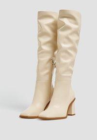 PULL&BEAR - Boots - beige - 2