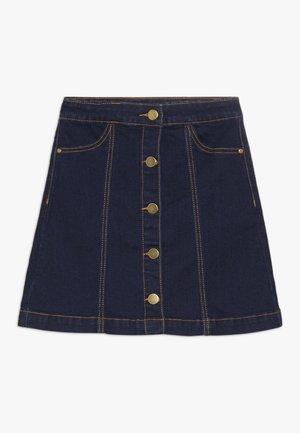 ORVELLE SKIRT - Áčková sukně - dark blue denim