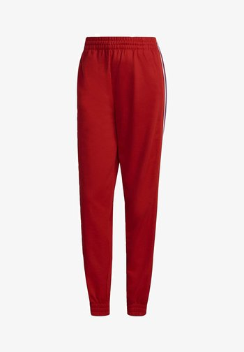 Track PB ADICOLOR PRIMEBLUE ORIGINALS REGULAR PANTS - Pantalones deportivos - red