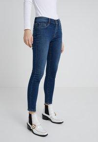 Current/Elliott - THE STILETTO - Jeans Skinny Fit - dark blue denim - 0