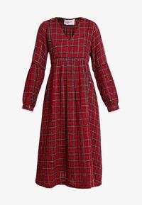 Leon & Harper - RODRIGUE TARTAN - Day dress - red - 5