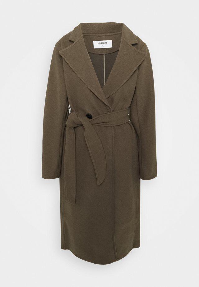 ALFIE - Classic coat - olive