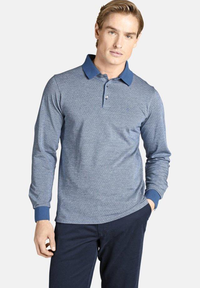 EARL MORGAN - Polo shirt - blue