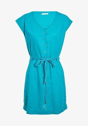 MIT GÜRTELZUG - Shirt dress - vert
