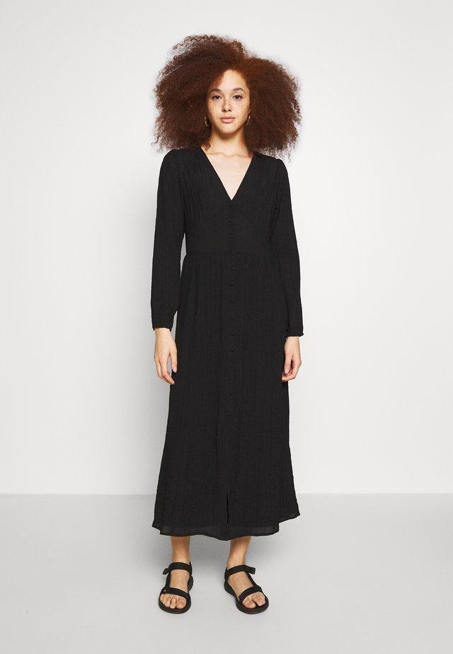 ENTEN DRESS - Robe chemise - black