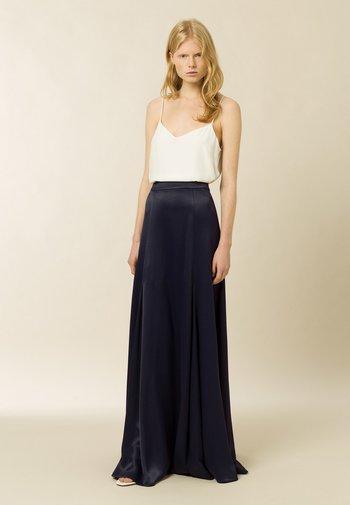 Maxi sukně - navy blue
