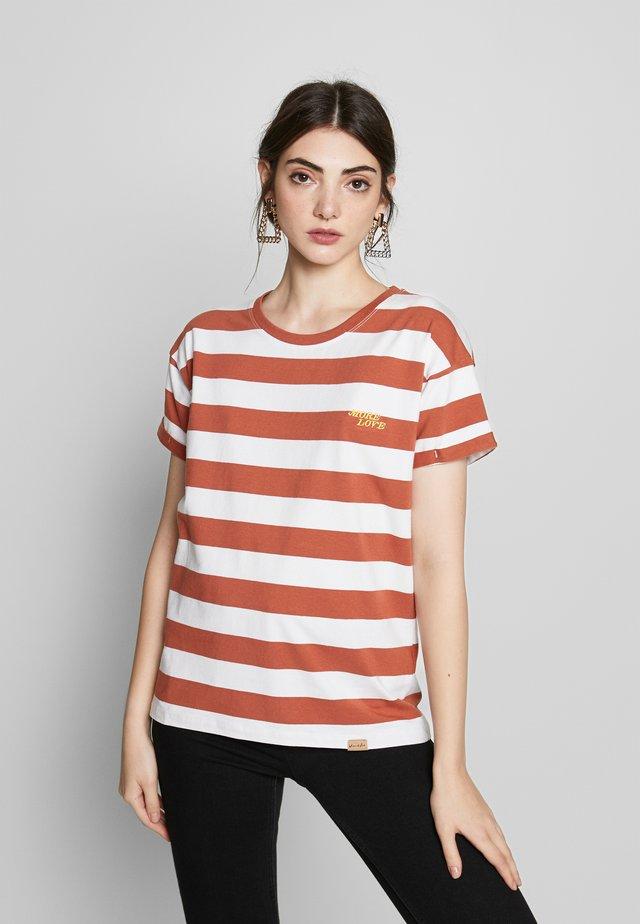 Print T-shirt - chutney