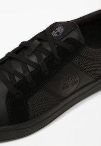 Timberland - DAVIS SQUARE - Sneakers - mottled black - 5