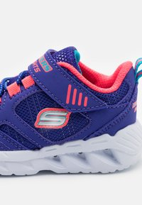 Skechers - MAGNA LIGHTS - Trainers - blue/coral - 5