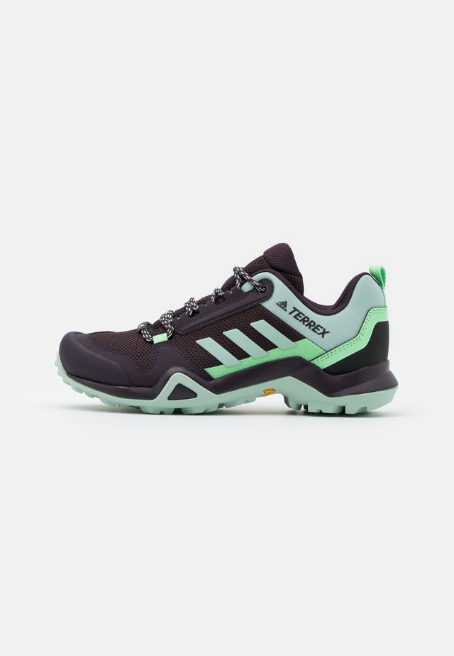 TERREX AX3 - Outdoorschoenen - noble purple/green tint/glory mint