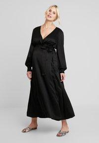 IVY & OAK Maternity - DRESS - Vestito estivo - black - 2