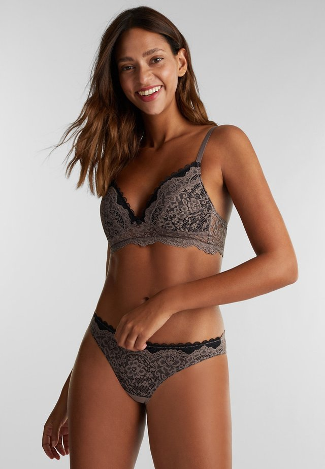 Soutien-gorge triangle - taupe