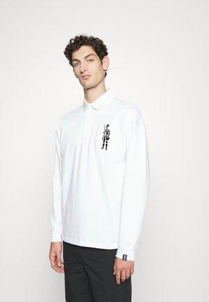 DANDY RUGBY - Poloshirt - white