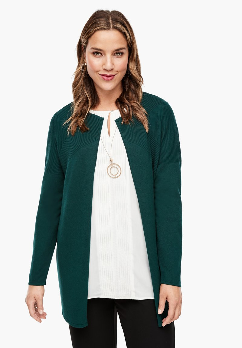 Triangle - Cardigan - emerald