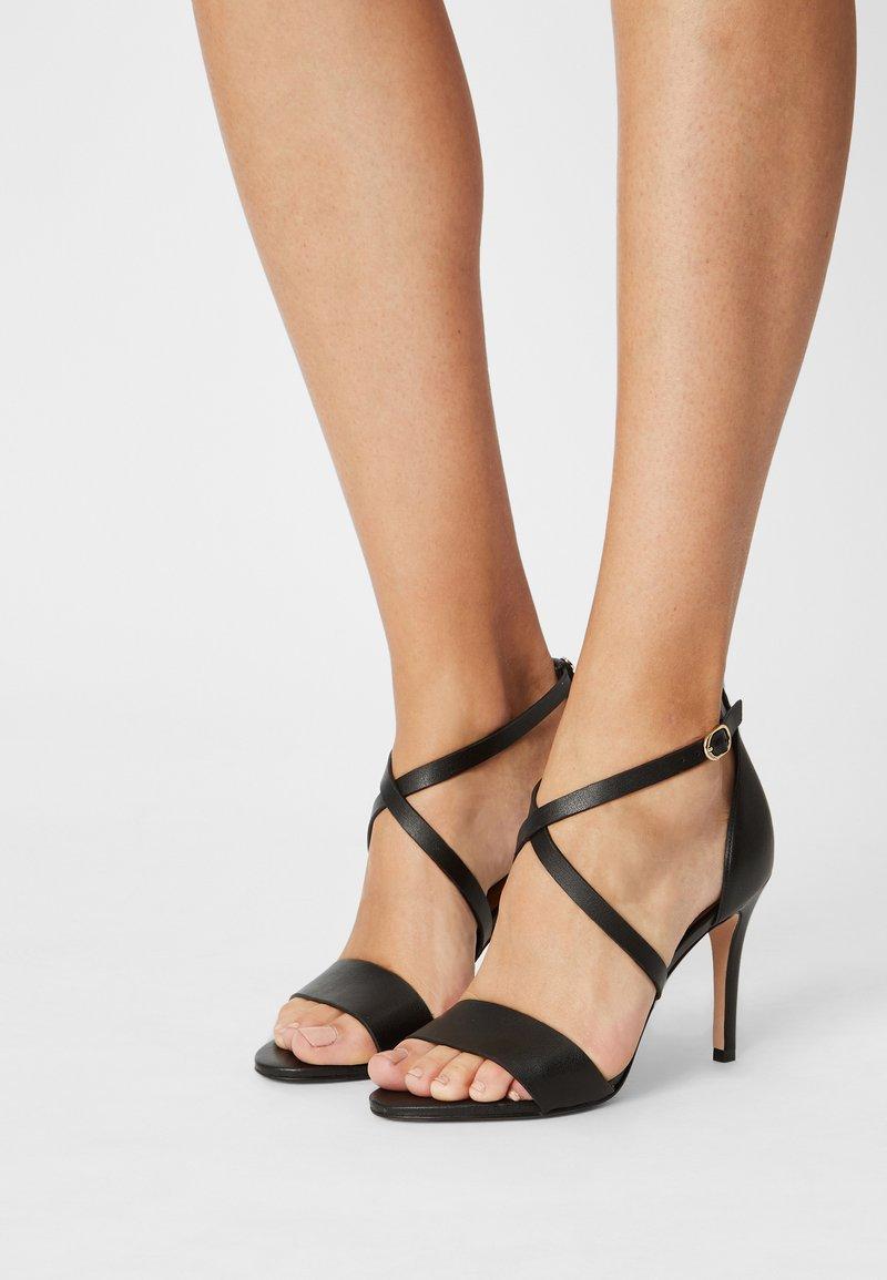 Cosmoparis - ZEANA VEGAN - Sandals - noir