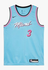 Nike Performance - NBA WADE DWAYNE MIAMI HEAT CITY EDITION SWINGMAN - Klubové oblečení - blue gale - 0