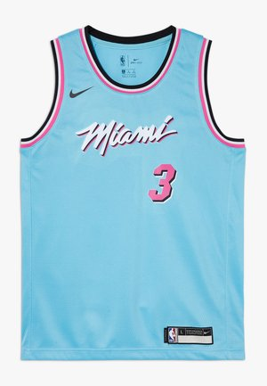 NBA WADE DWAYNE MIAMI HEAT CITY EDITION SWINGMAN - Klubové oblečení - blue gale