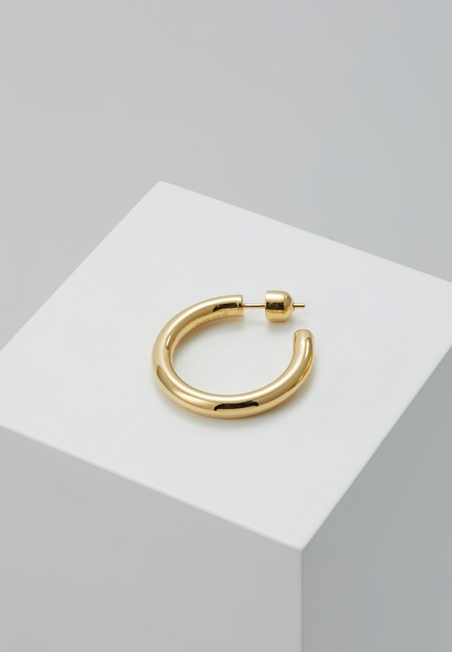 RUBY HOOP  - Øreringe - gold-coloured