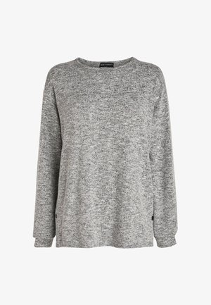 MATERNITY/NURSING POPPER SIDE - Sweatshirt - grey