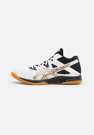 GEL TASK MT - Handball shoes - white/pure gold
