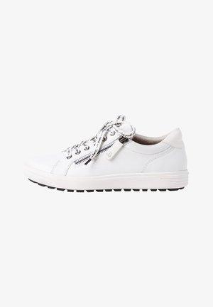 Sneakers laag - white nappa