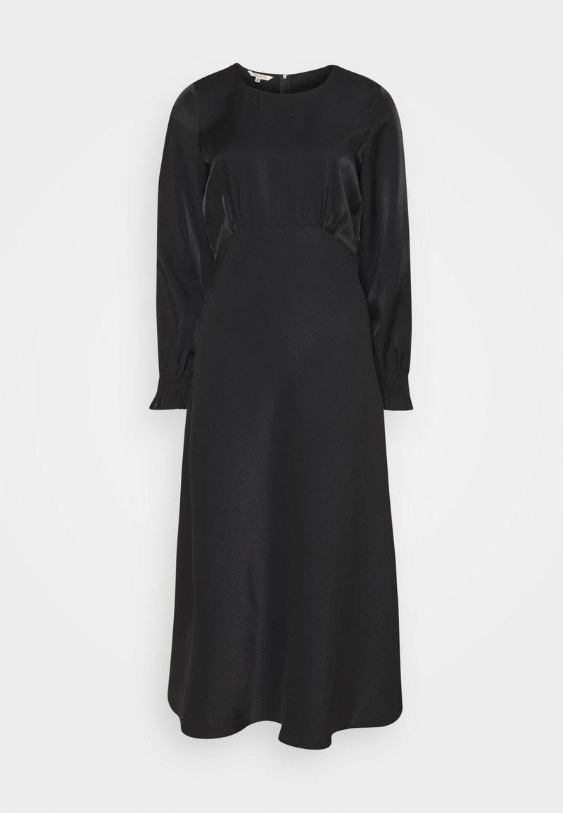 Herrlicher - LOULOU DRESS SHINY MIX - Cocktail dress / Party dress - black