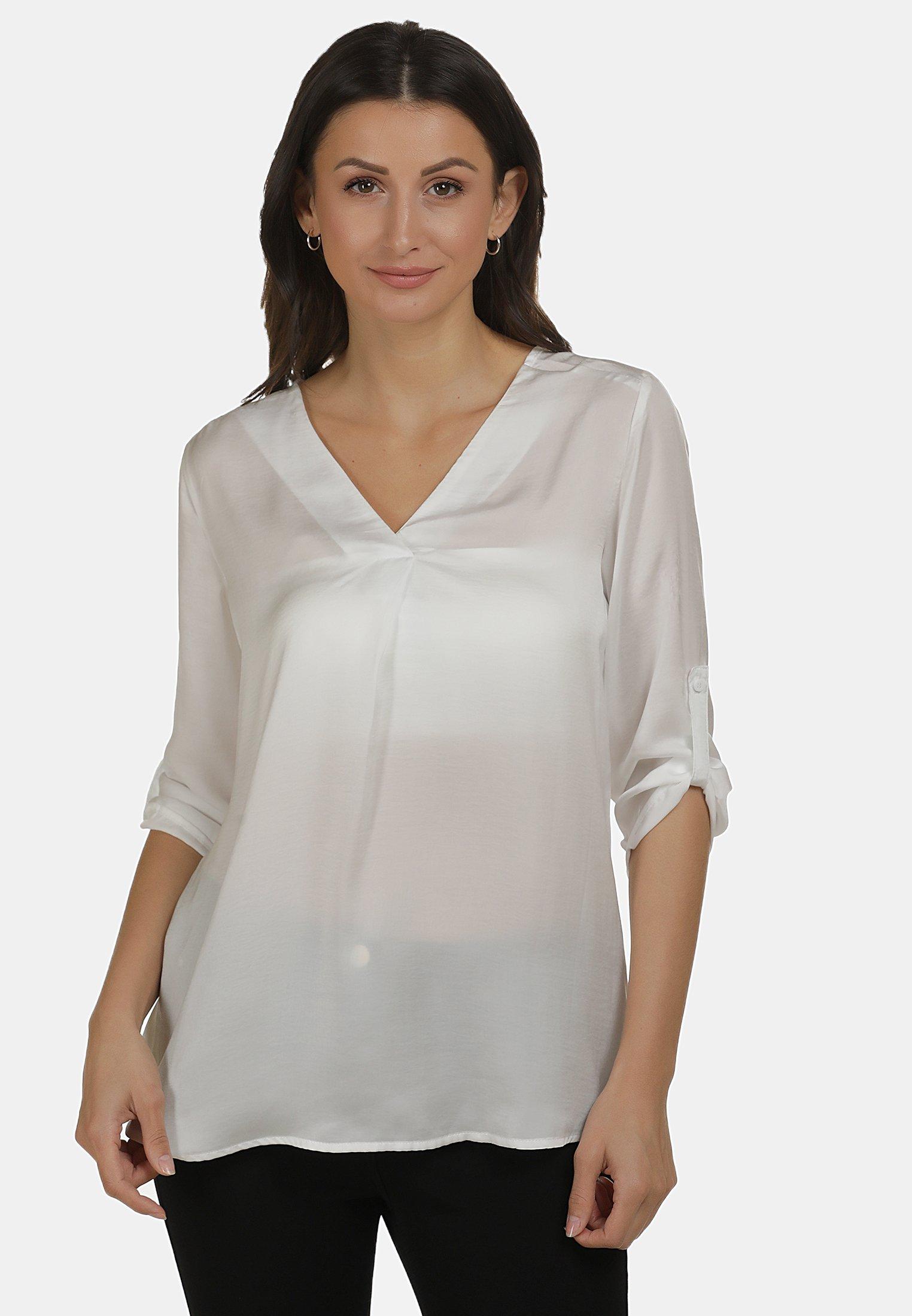 usha USHABLUSE - Blouse - weiss - Tops & T-shirts Femme mhO75