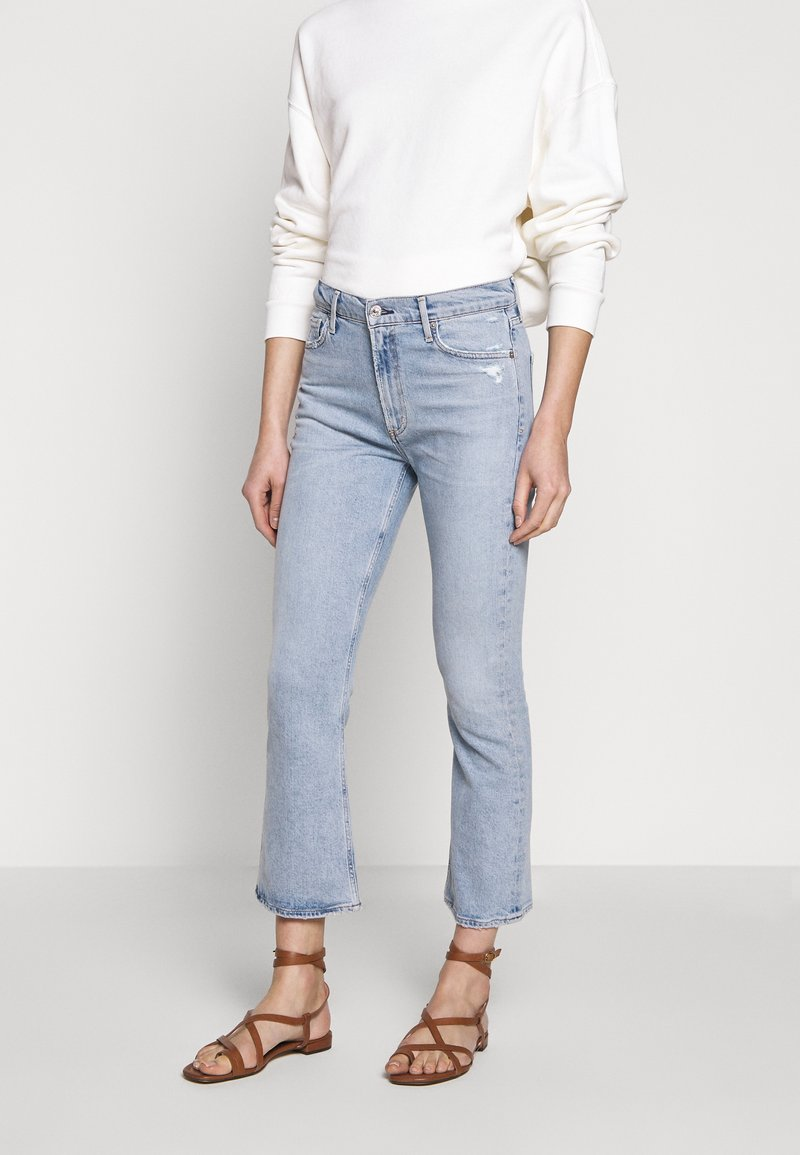 Citizens of Humanity - DEMY CROPPED  - Flared Jeans - igne