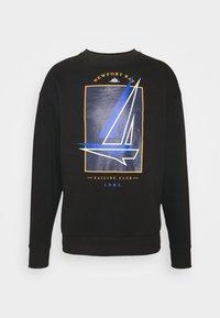 Newport Bay Sailing Club - BOAT CREW - Sweatshirt - black - 3