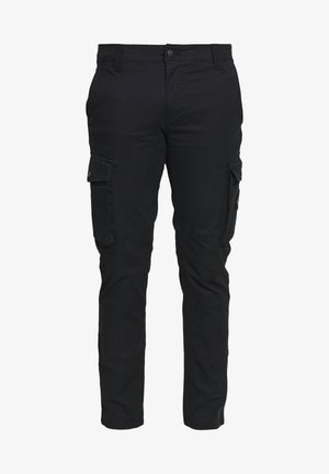 SKINNY PANT - Cargo trousers - black