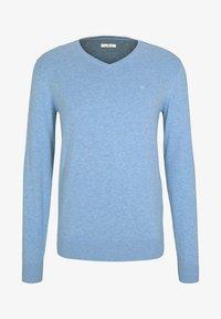 mottled light blue