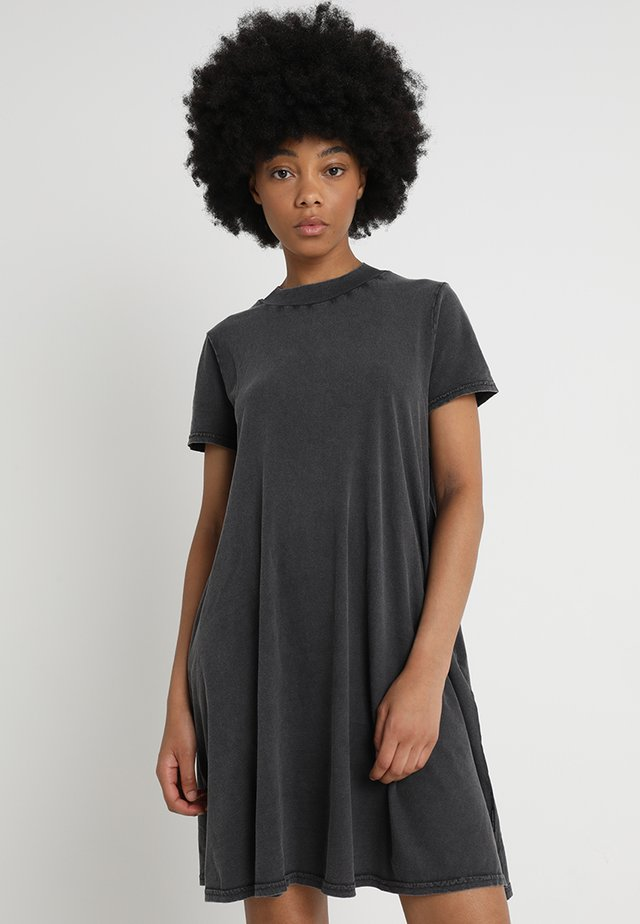 Jerseykleid - dark grey