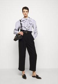 Alberta Ferretti - CAMICIA - Long sleeved top - white - 1