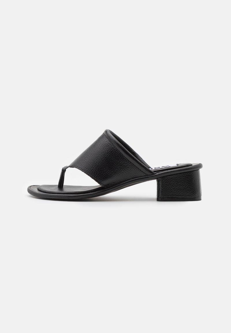 ASRA - JAMMIE - T-bar sandals - black