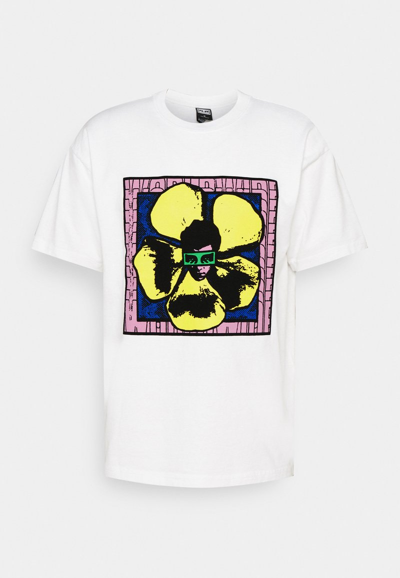Obey Clothing - WE MAKE THE FLOWERS GROW - Print T-shirt - white