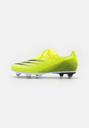 X GHOSTED.3 SG - Screw-in stud football boots - solar yellow/core black/royal blue