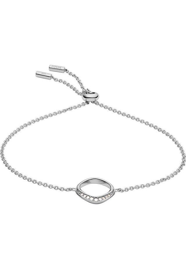 FOSSIL DAMEN-ARMBAND 925ER SILBER PERLMUTT - Rannekoru - silver