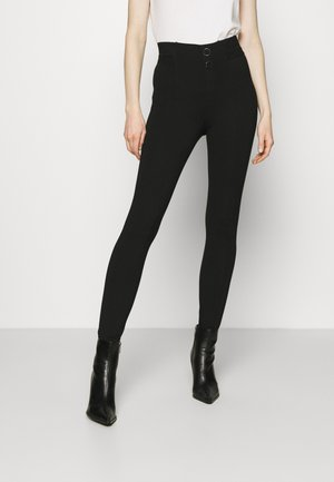 SEBASTIANA - Leggings - jet black