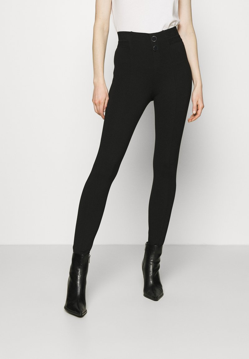 Guess - SEBASTIANA - Leggings - Trousers - jet black